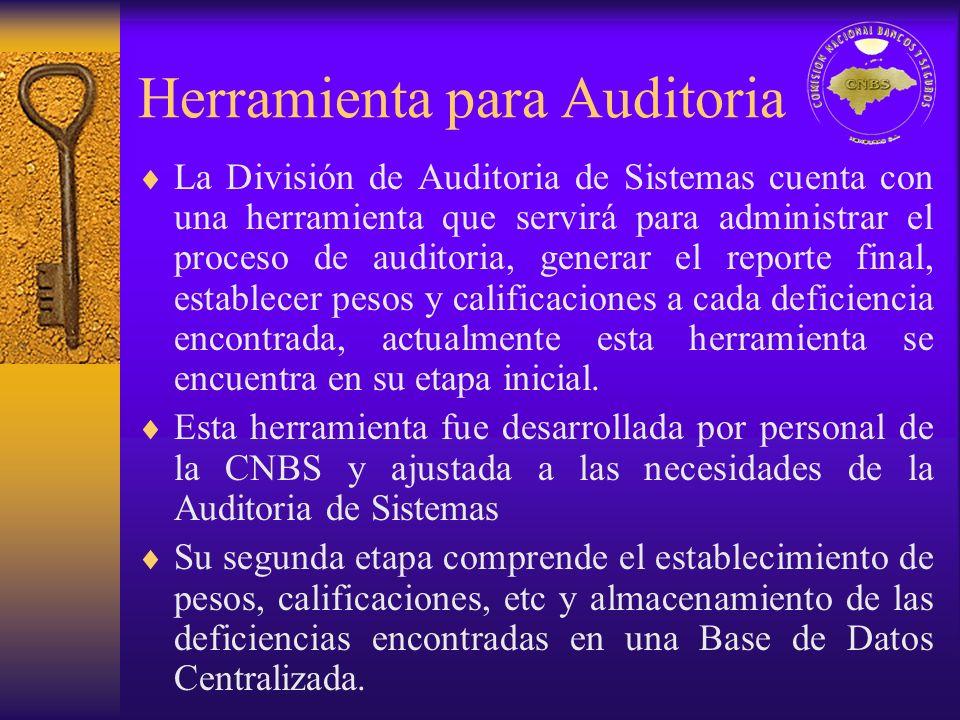 Herramienta para Auditoria