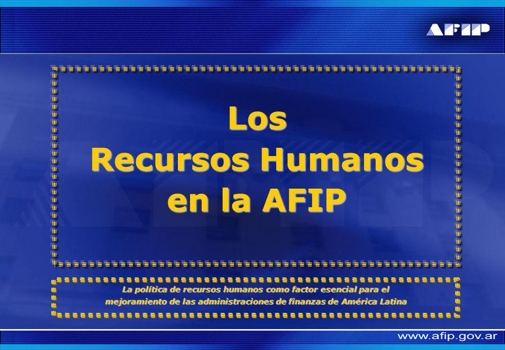 Los Recursos Humanos en la AFIP
