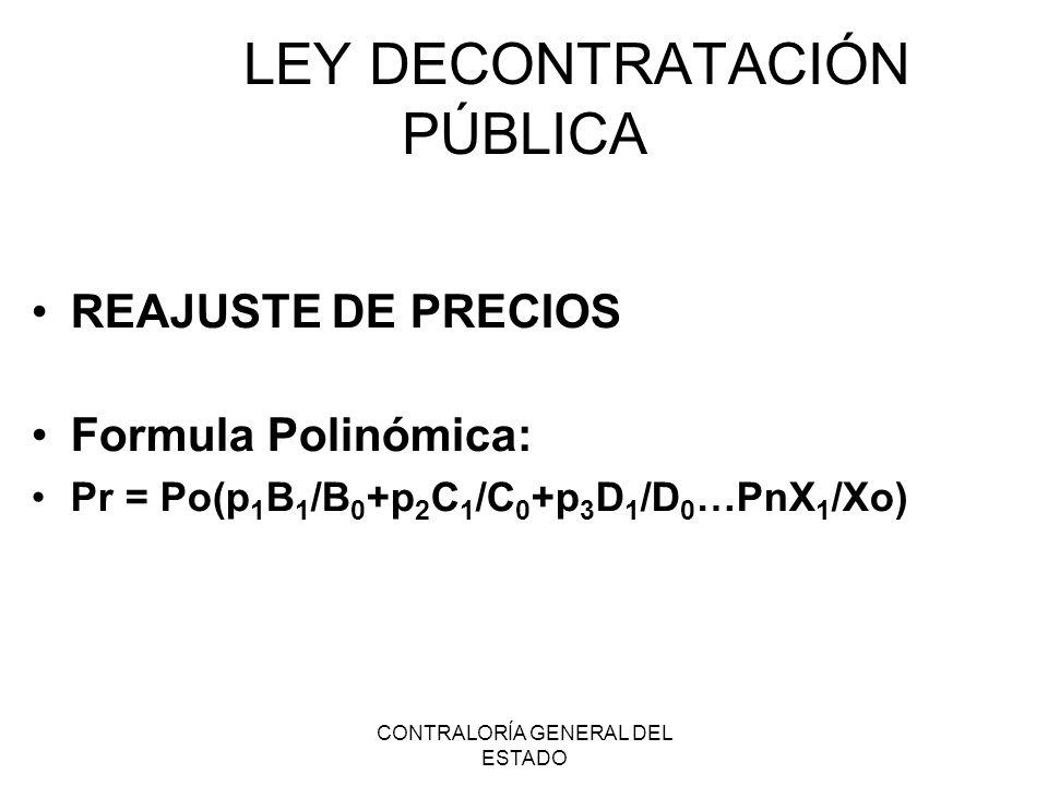 LEY DECONTRATACIÓN PÚBLICA