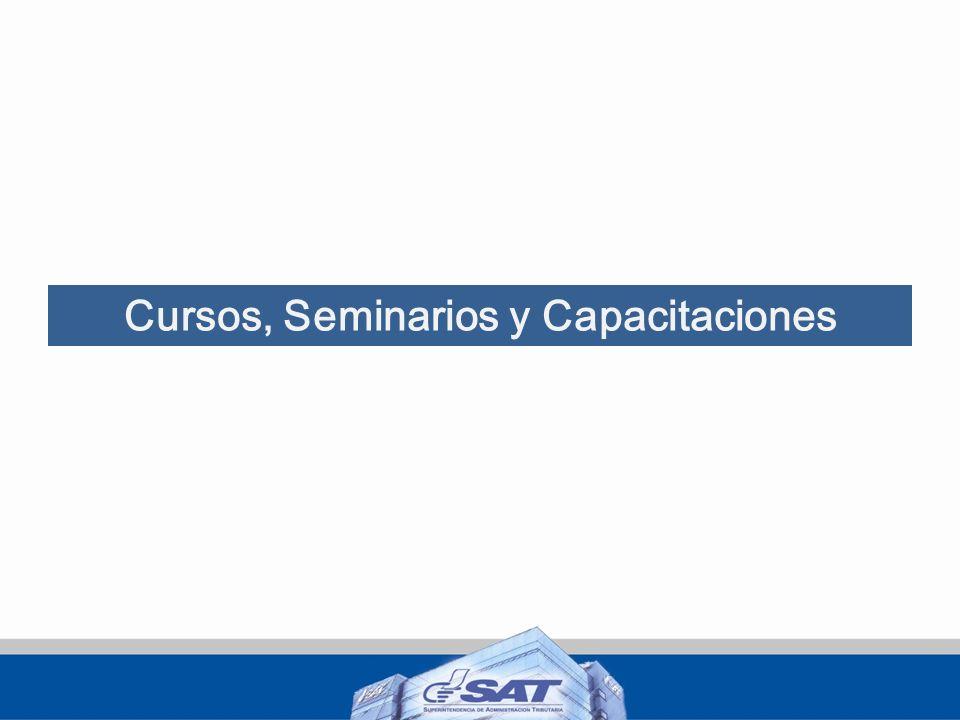 Cursos, Seminarios y Capacitaciones