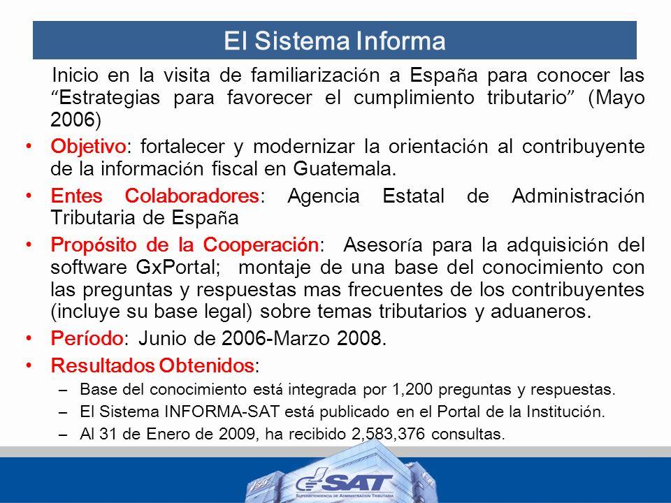 El Sistema Informa