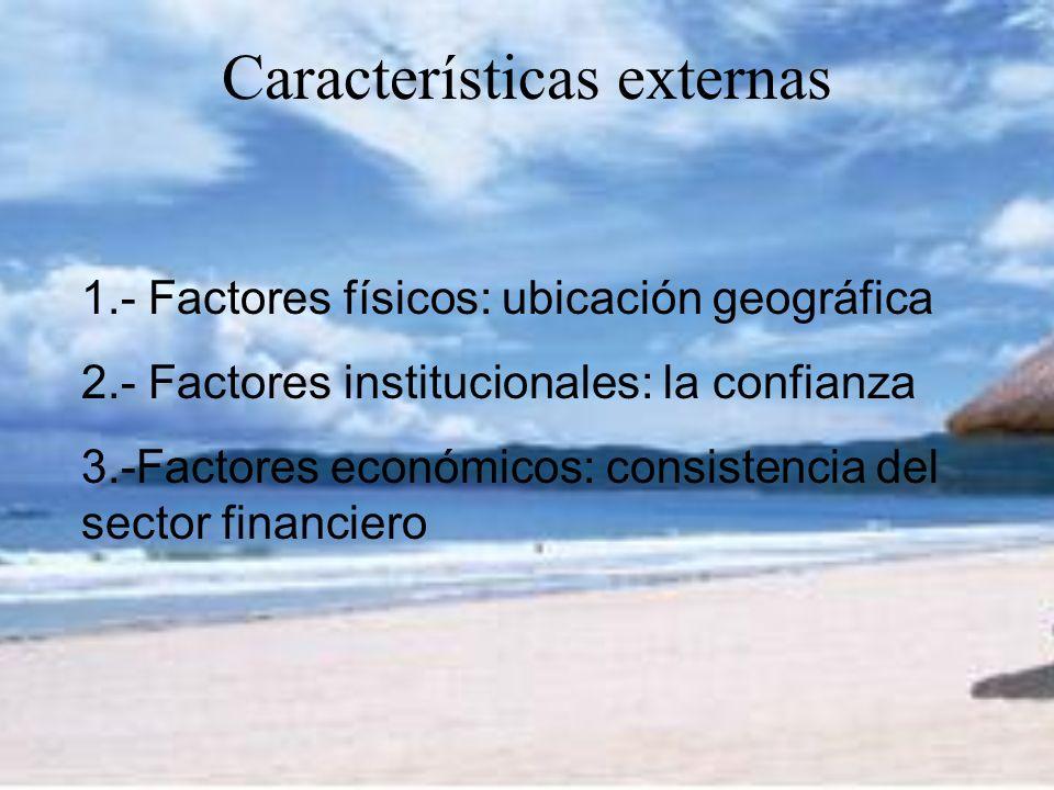 Características externas
