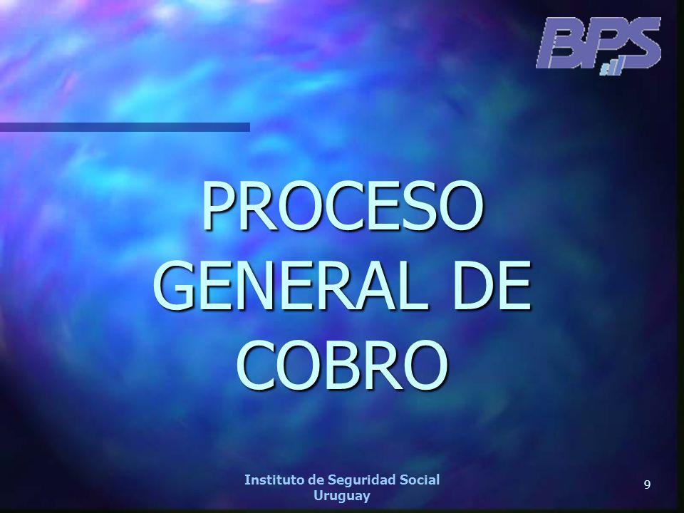 PROCESO GENERAL DE COBRO