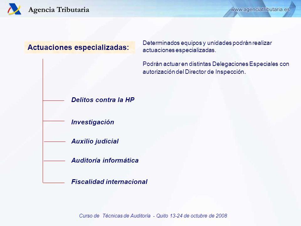 Auditoría informática Fiscalidad internacional