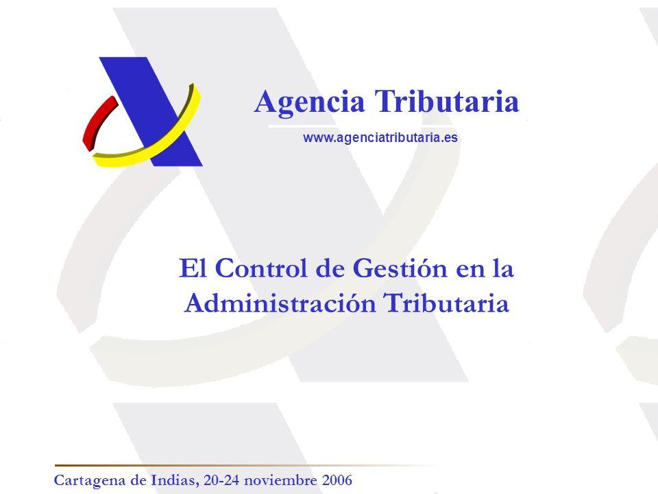 El Control de Gestión en la Administración Tributaria