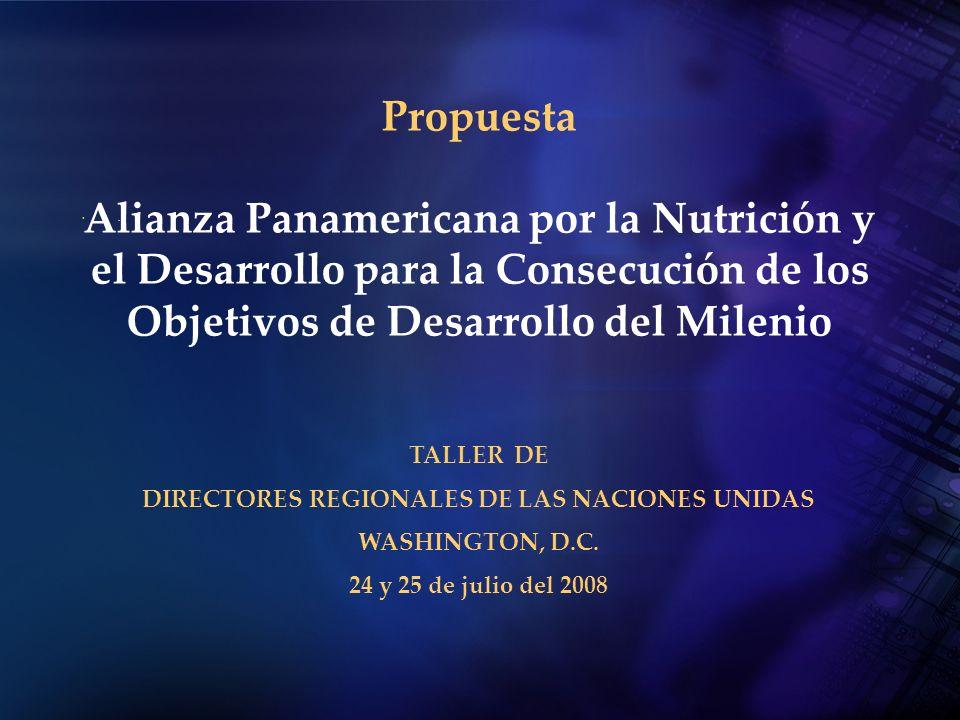 DIRECTORES REGIONALES DE LAS NACIONES UNIDAS