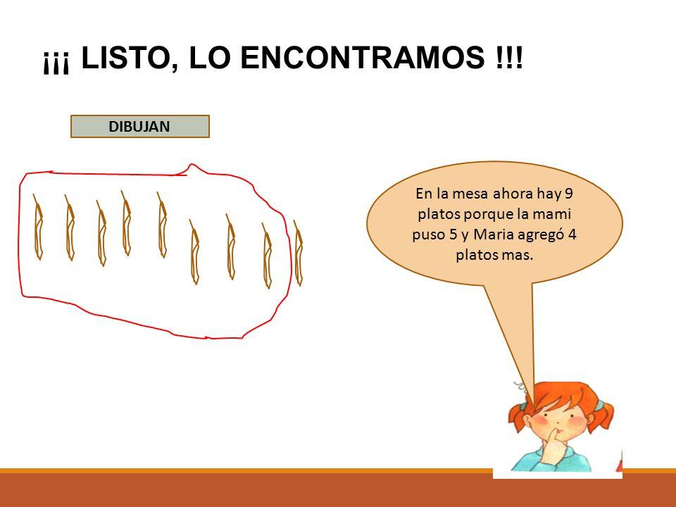 ¡¡¡ LISTO, LO ENCONTRAMOS !!!