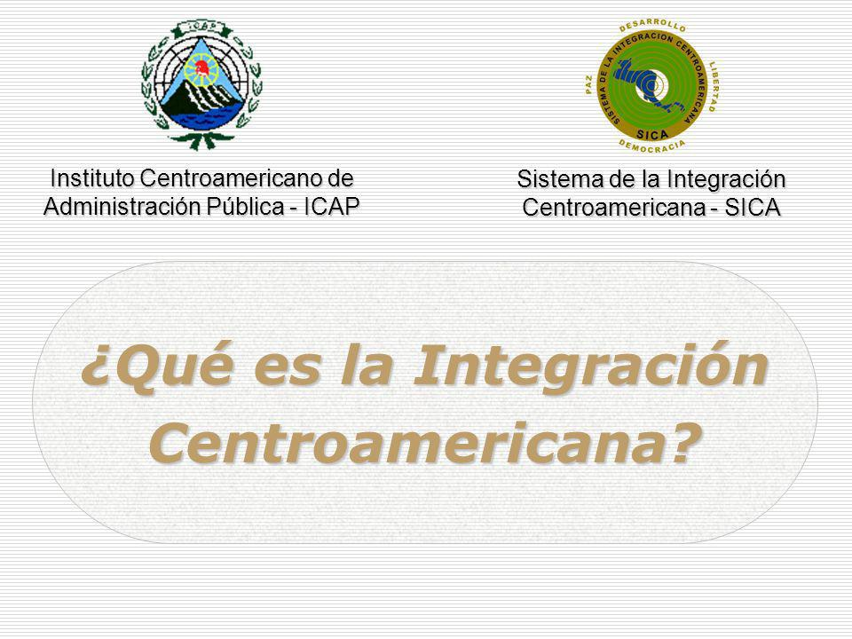 ¿Qué es la Integración Centroamericana