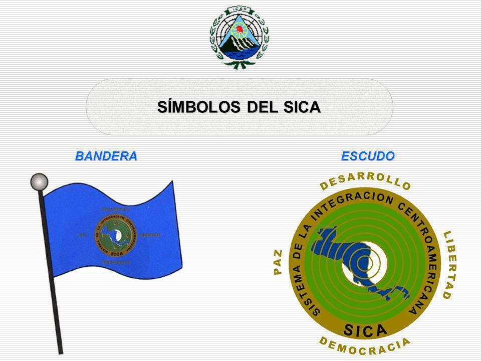 SÍMBOLOS DEL SICA BANDERA ESCUDO