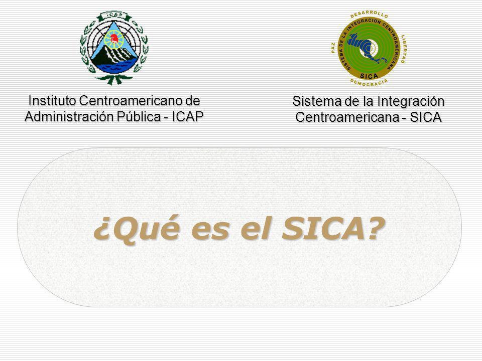 ¿Qué es el SICA Instituto Centroamericano de
