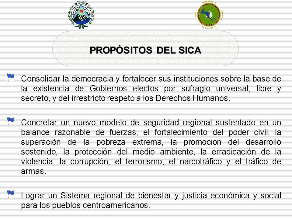 PROPÓSITOS DEL SICA