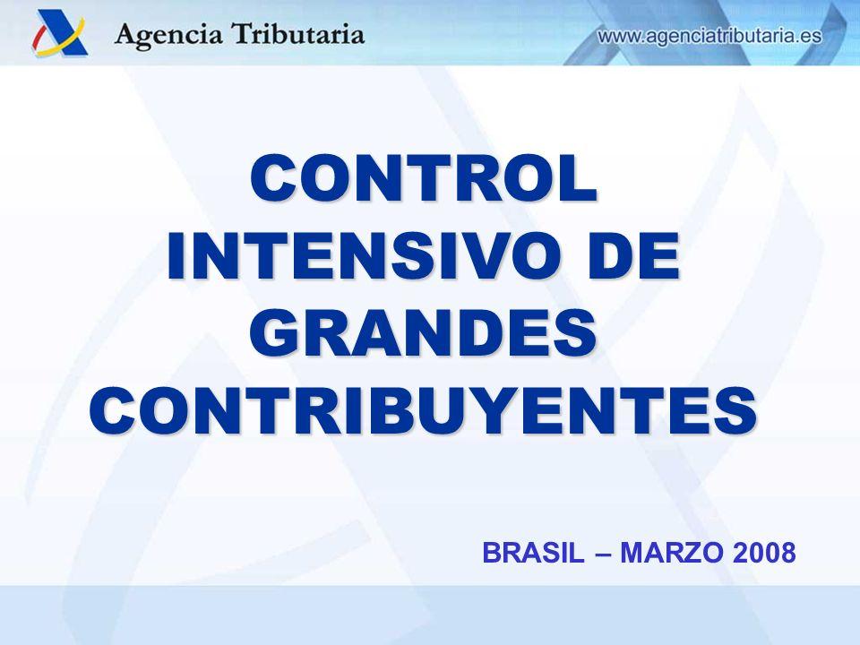 CONTROL INTENSIVO DE GRANDES CONTRIBUYENTES