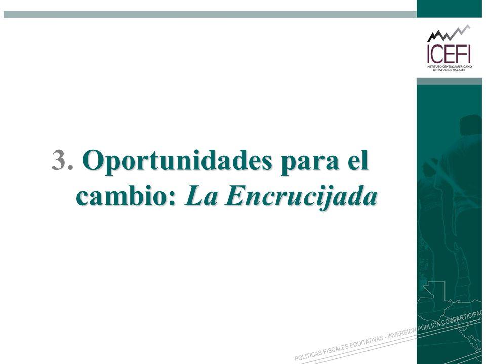 3. Oportunidades para el cambio: La Encrucijada