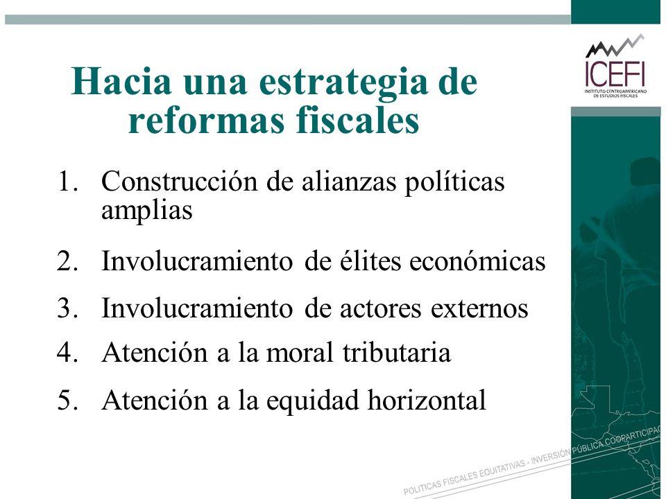 Hacia una estrategia de reformas fiscales