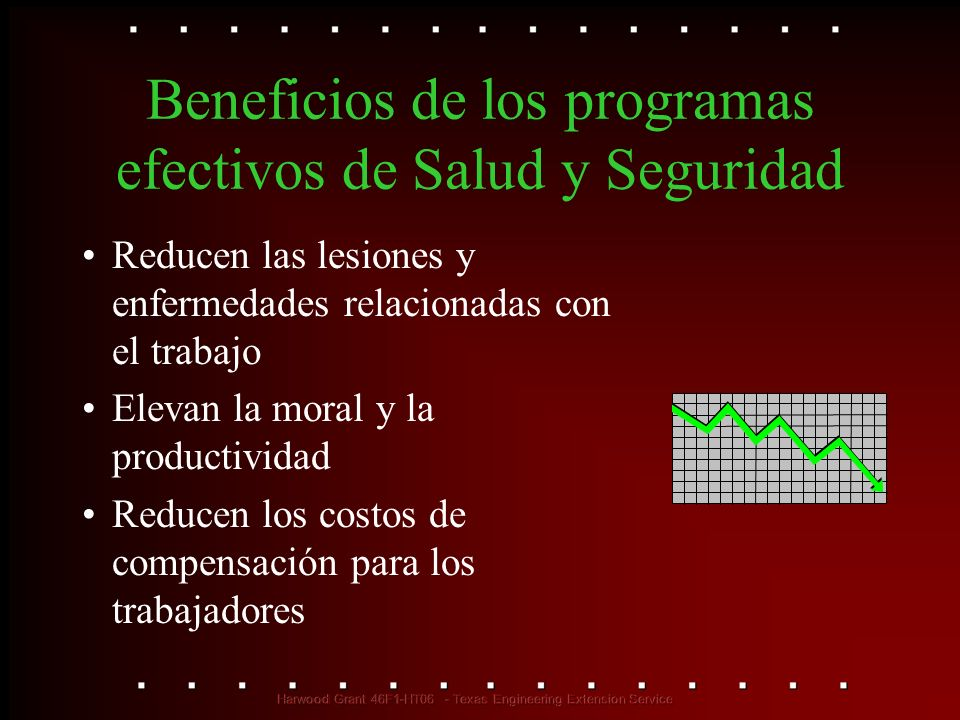 Beneficios de los programas efectivos de Salud y Seguridad