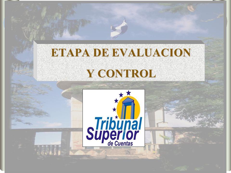 ETAPA DE EVALUACION Y CONTROL