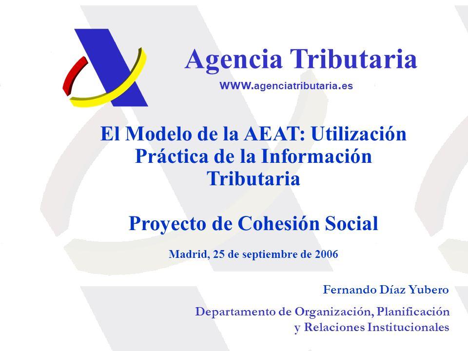 Proyecto de Cohesión Social Madrid, 25 de septiembre de 2006