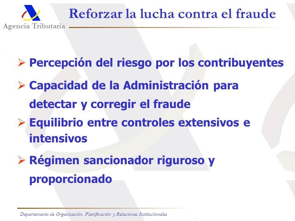 Reforzar la lucha contra el fraude