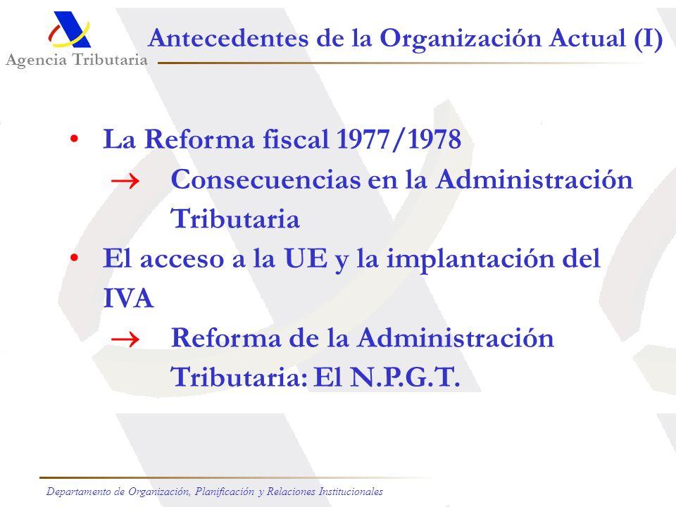  Consecuencias en la Administración Tributaria