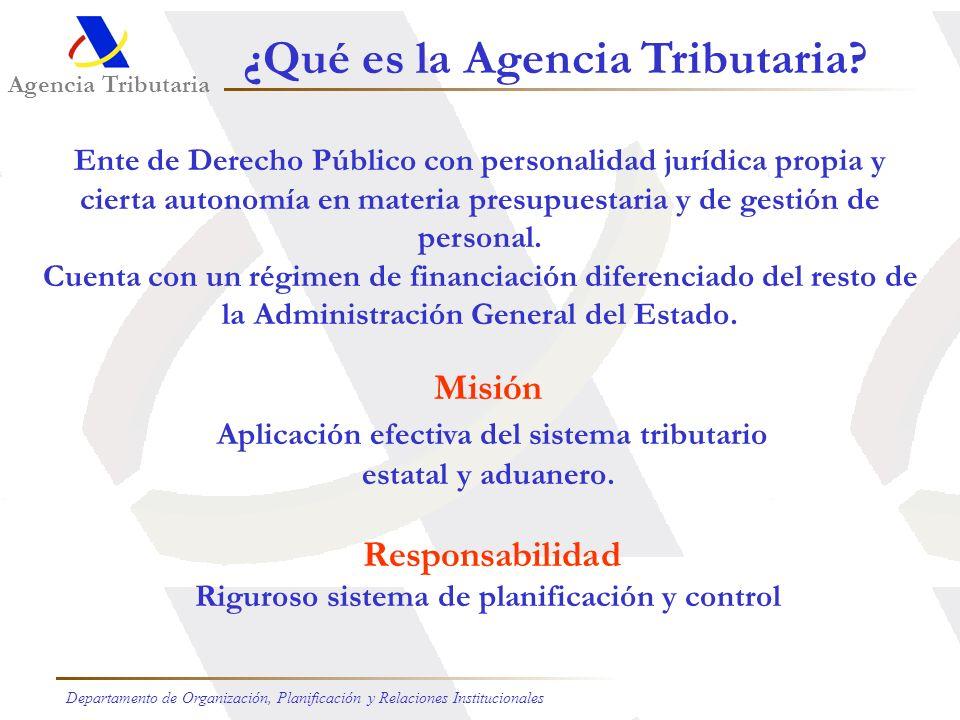 ¿Qué es la Agencia Tributaria