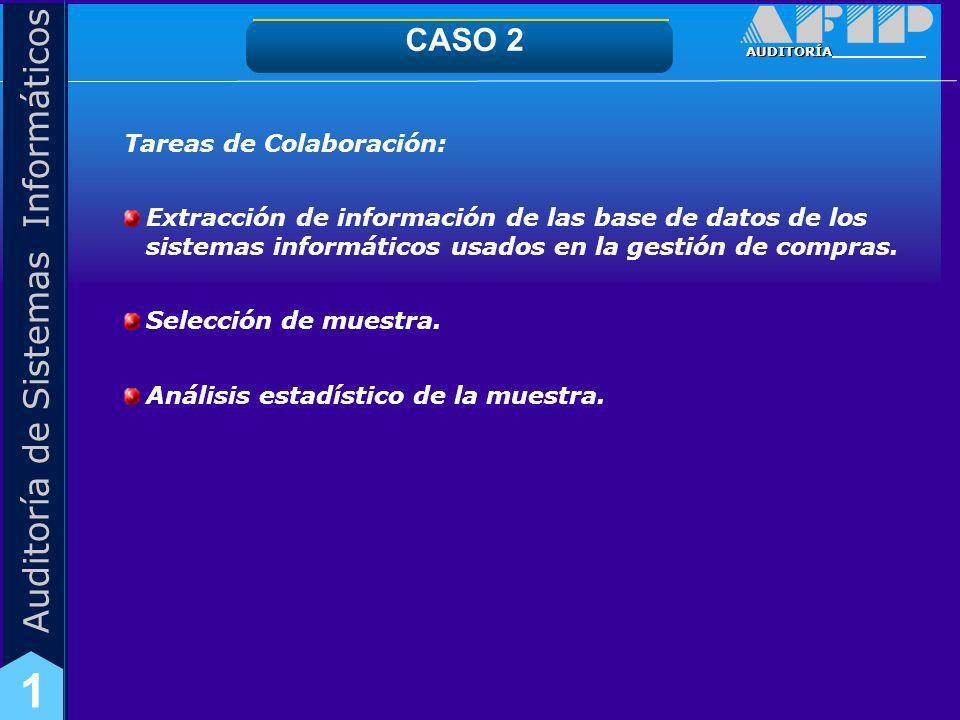 CASO 2 Tareas de Colaboración:
