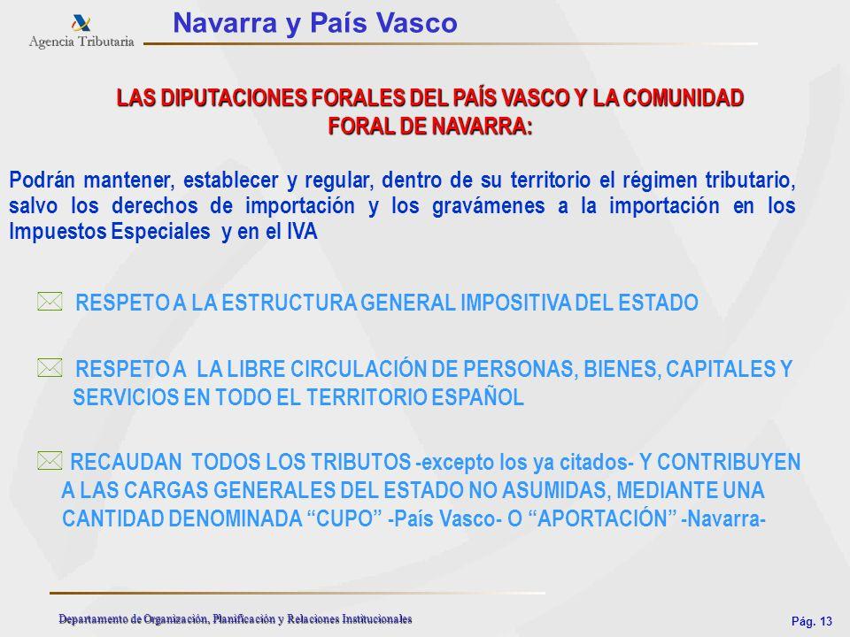 LAS DIPUTACIONES FORALES DEL PAÍS VASCO Y LA COMUNIDAD