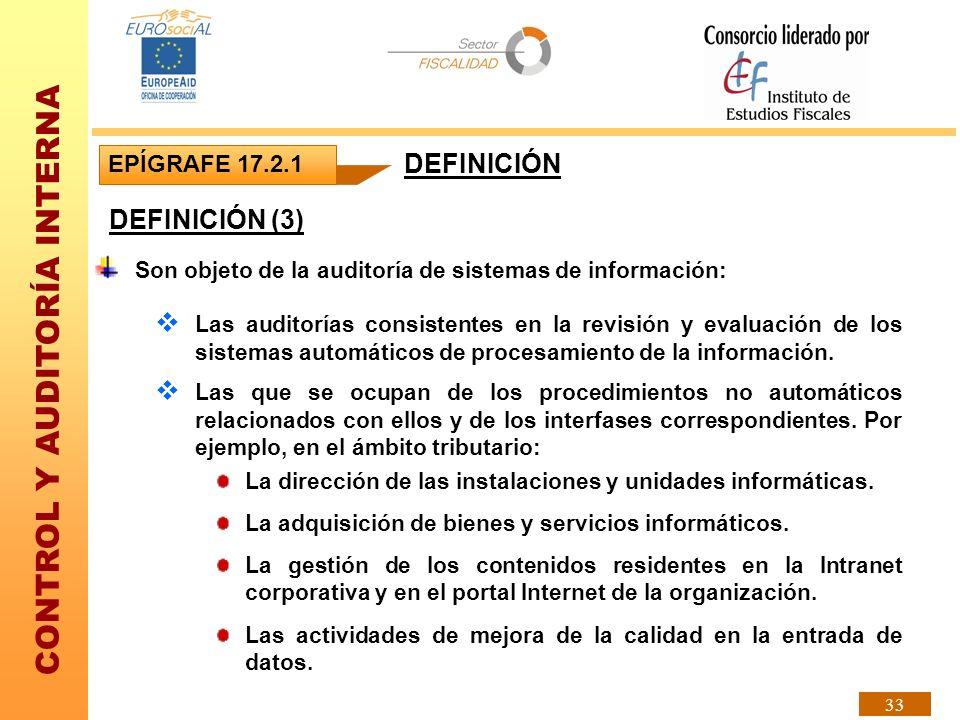 DEFINICIÓN DEFINICIÓN (3) EPÍGRAFE 17.2.1