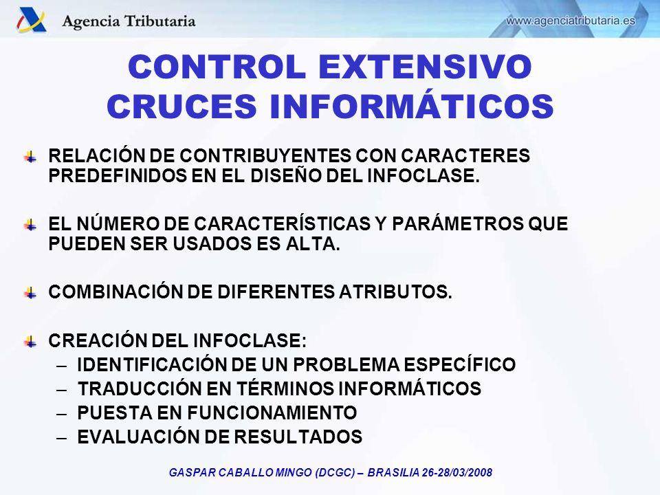CONTROL EXTENSIVO CRUCES INFORMÁTICOS