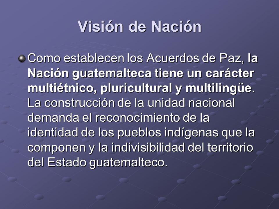 Visión de Nación