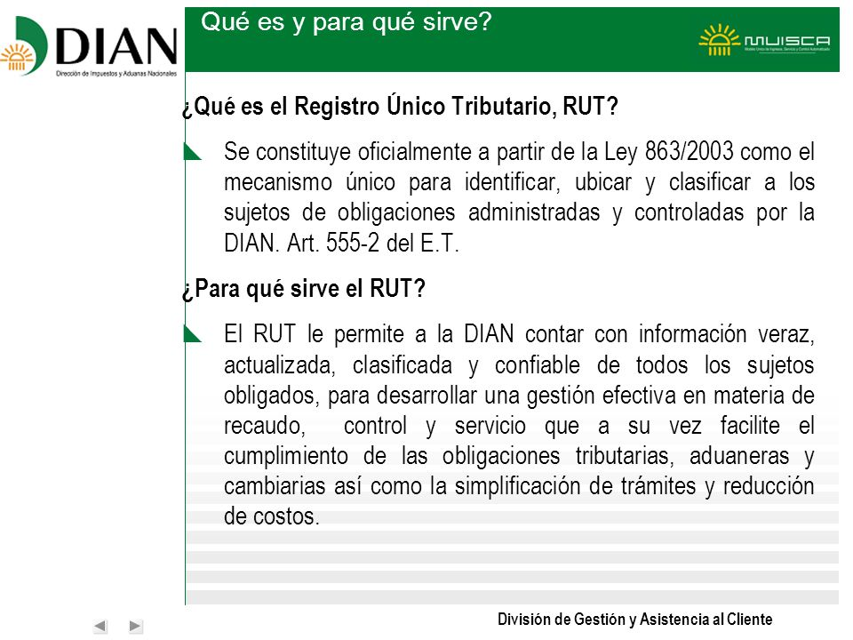 Qué es y para qué sirve ¿Qué es el Registro Único Tributario, RUT