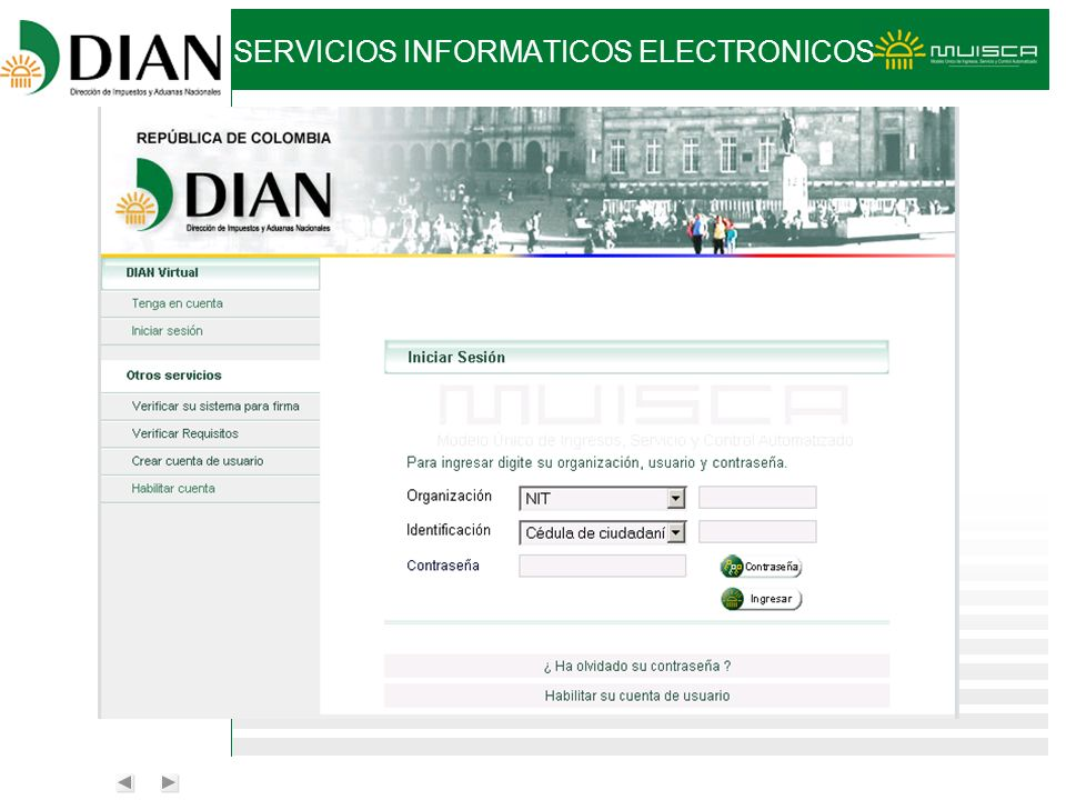 SERVICIOS INFORMATICOS ELECTRONICOS