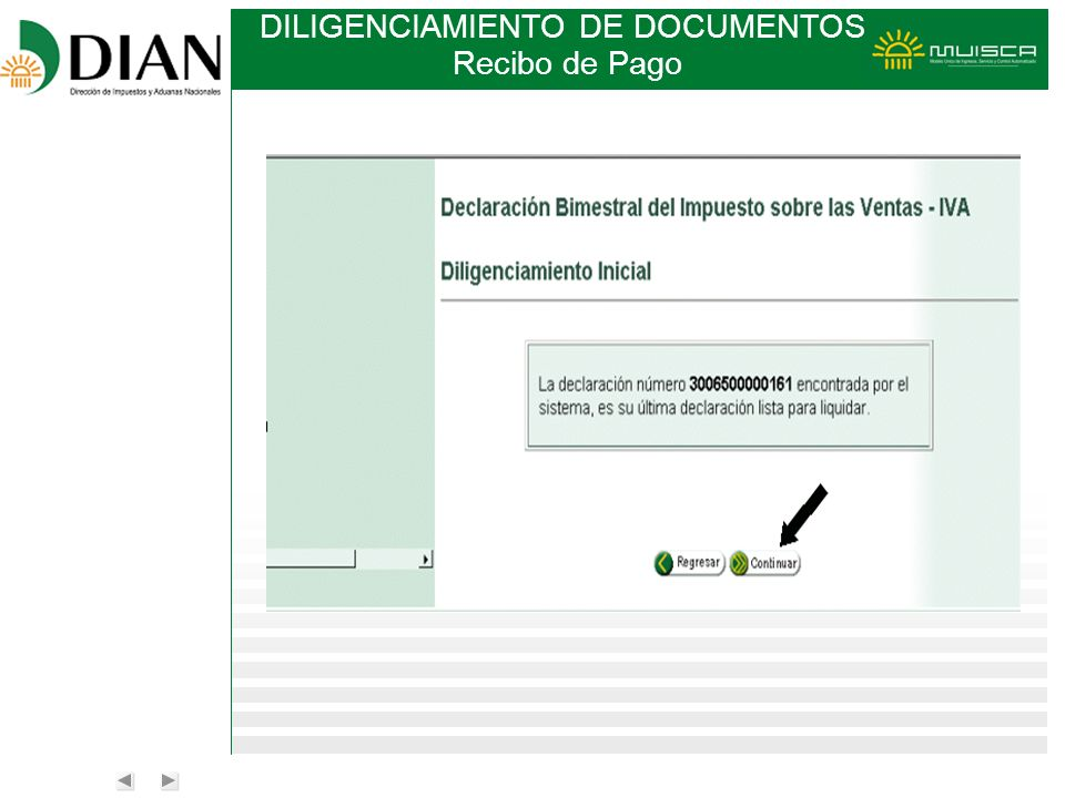 DILIGENCIAMIENTO DE DOCUMENTOS