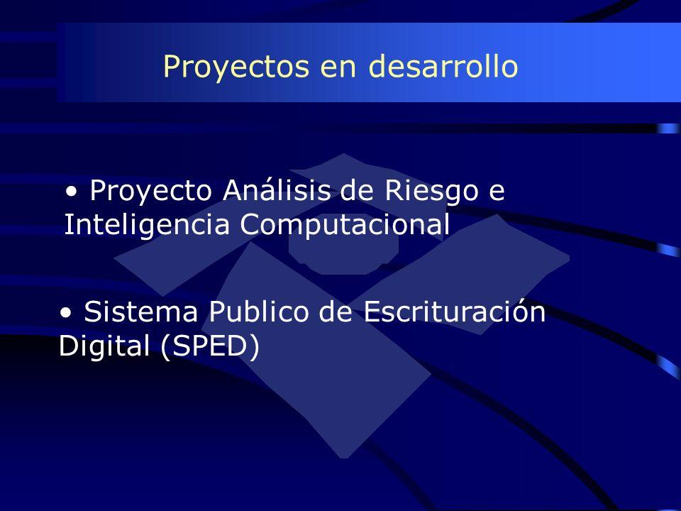 Proyectos en desarrollo