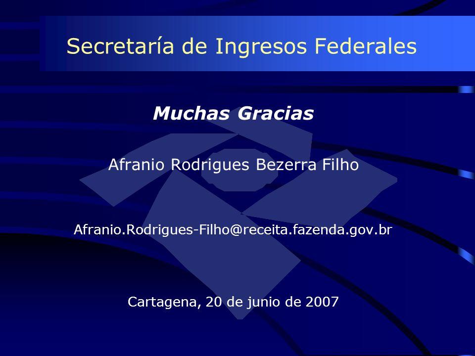 Secretaría de Ingresos Federales