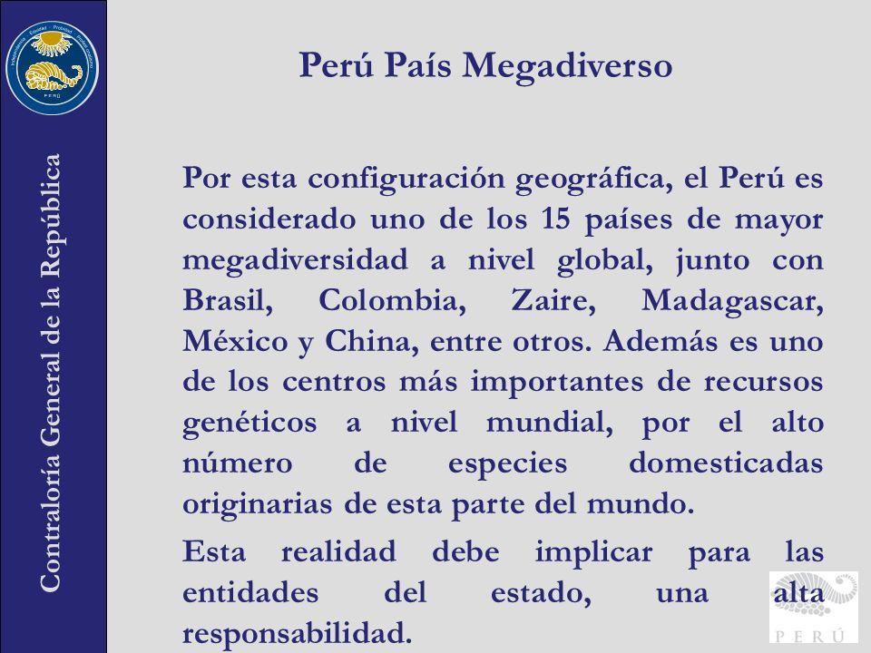 Perú País Megadiverso