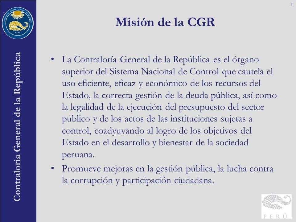 Misión de la CGR