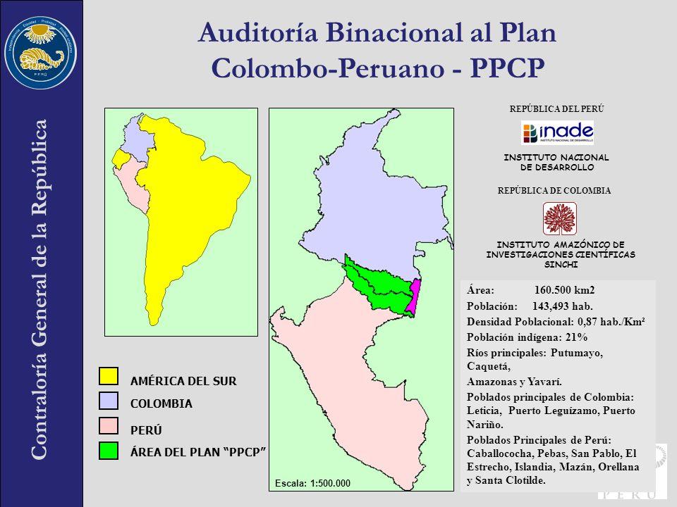 Auditoría Binacional al Plan Colombo-Peruano - PPCP