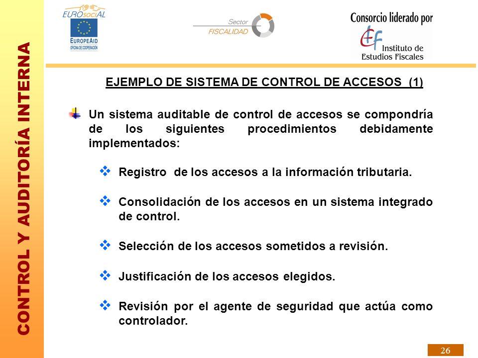 EJEMPLO DE SISTEMA DE CONTROL DE ACCESOS (1)