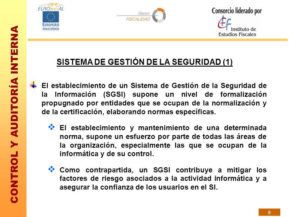SISTEMA DE GESTIÓN DE LA SEGURIDAD (1)