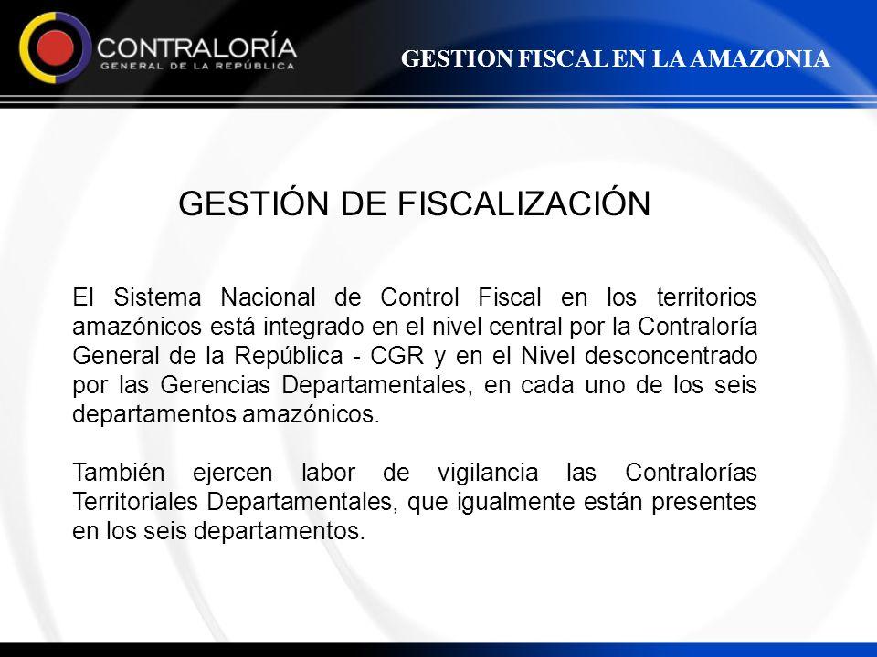 GESTIÓN DE FISCALIZACIÓN