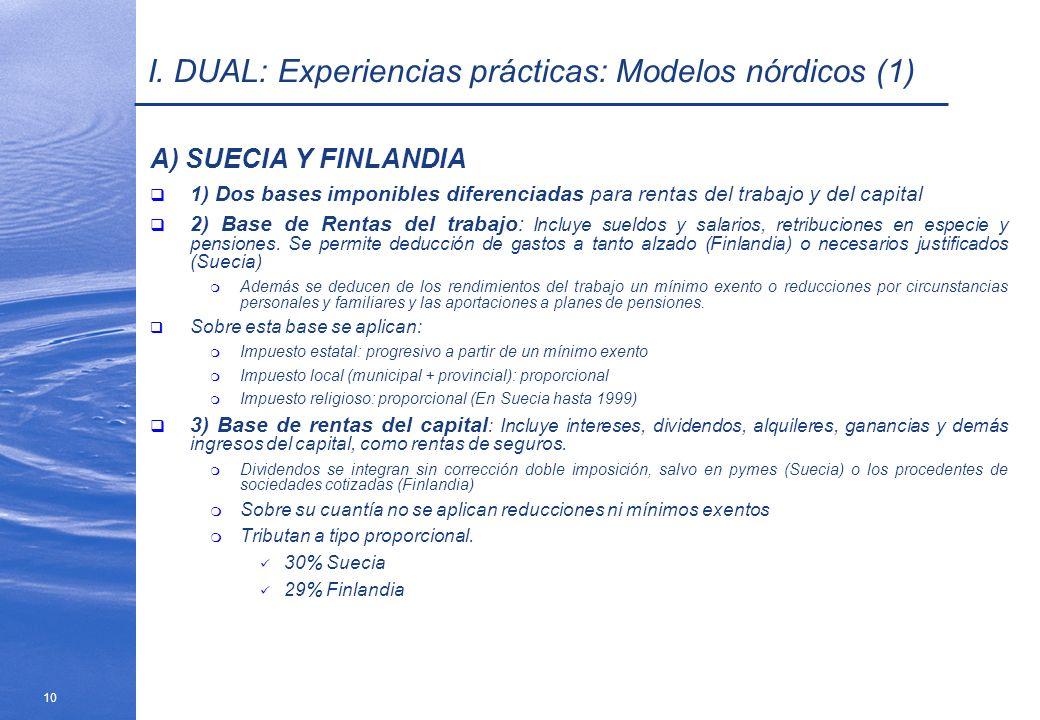 I. DUAL: Experiencias prácticas: Modelos nórdicos (1)