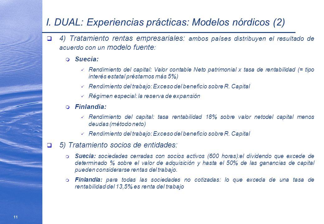 I. DUAL: Experiencias prácticas: Modelos nórdicos (2)