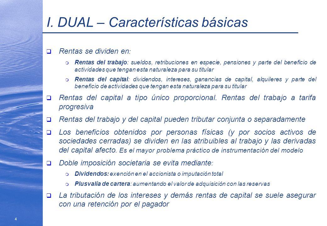 I. DUAL – Características básicas