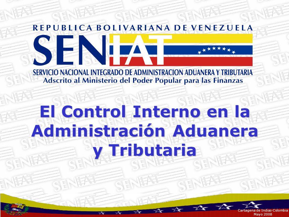 El Control Interno en la Administración Aduanera y Tributaria