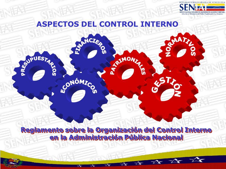 ASPECTOS DEL CONTROL INTERNO