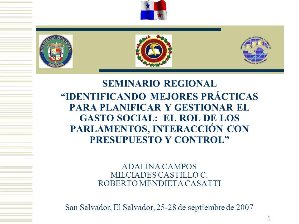 SEMINARIO REGIONAL