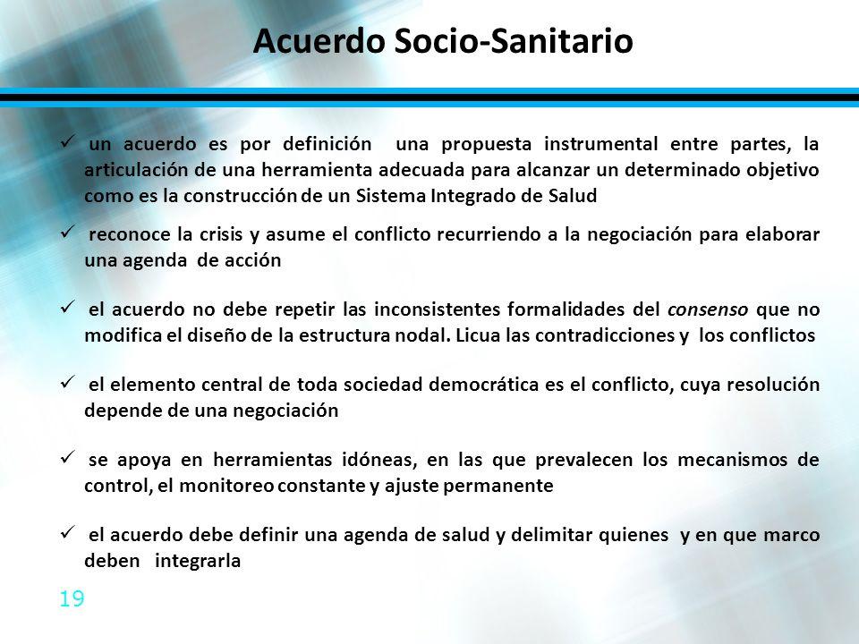 Acuerdo Socio-Sanitario