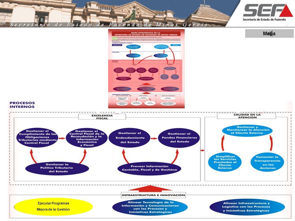Mapa Ejecutar Programas Mejora de la Gestión 8