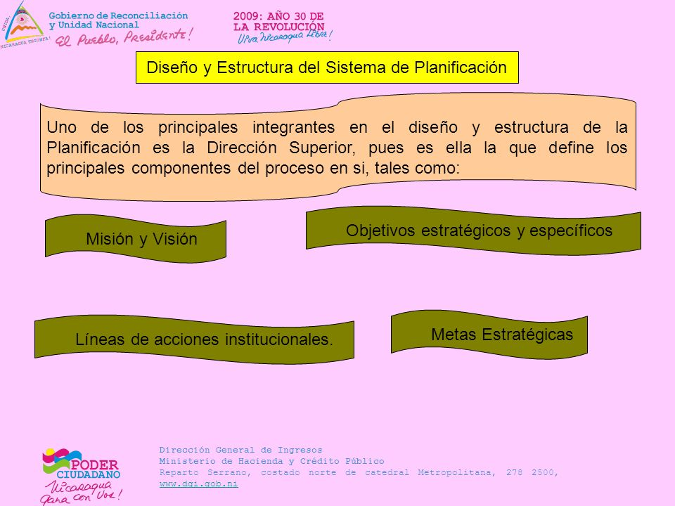 Diseño y Estructura del Sistema de Planificación