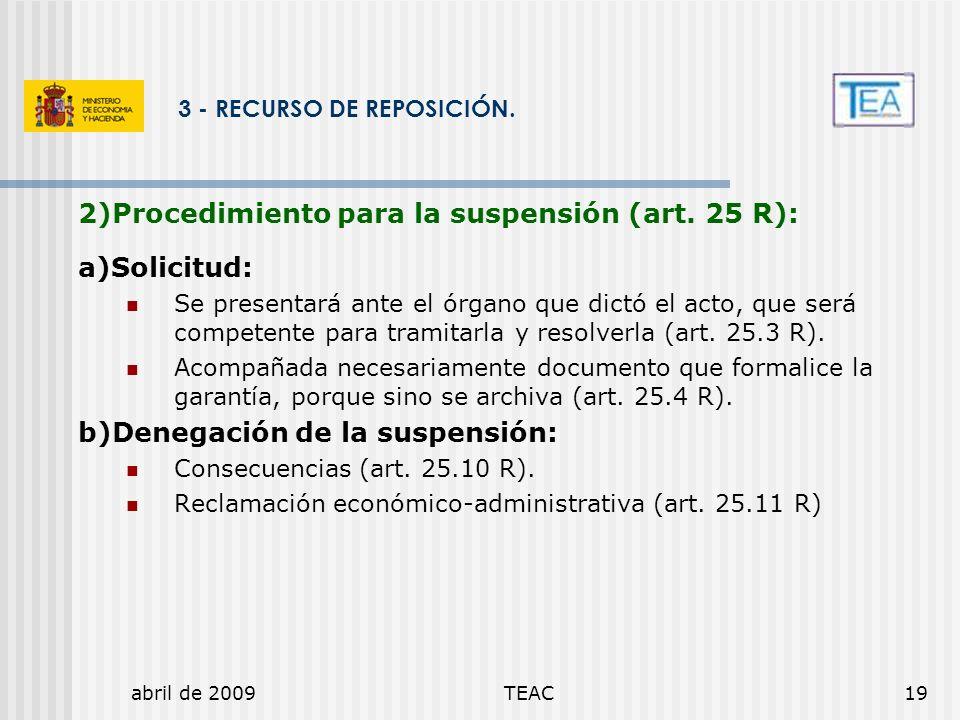3 - RECURSO DE REPOSICIÓN.